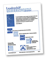 Leadership Philosophy Worksheet